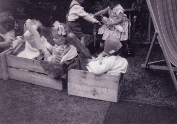 Children's Birthday Party In The Back Garden 1960