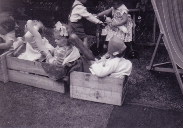 Children's Birthday Party In The Back Garden At 10 Bellevue Street 1960