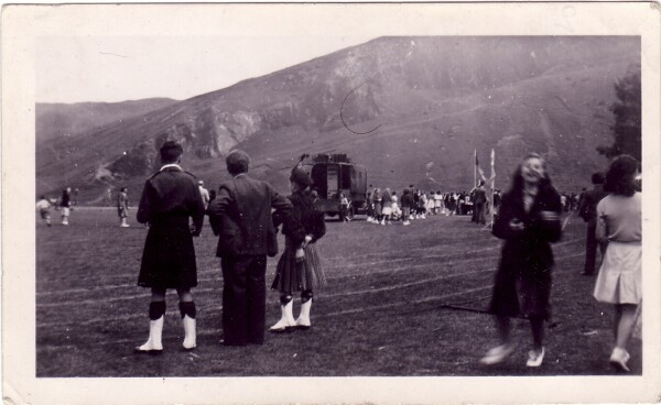 James Clark School Sports Day At Holyrood Park c.1948
