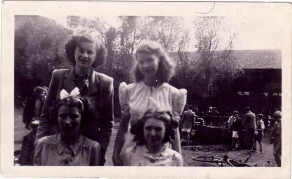 James Clark School Sports Day At Holyrood Park c.1948