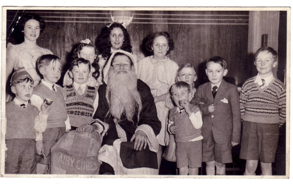 St Margaret's Church Dumbiedykes Sunday School Chistmas Party c.1953