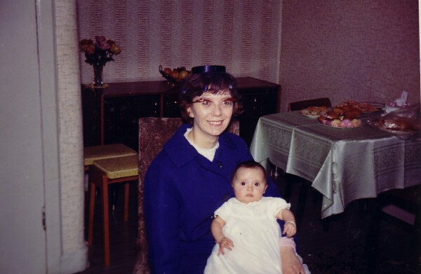 Godmother With Godchild c.1964