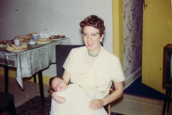 Godmother With Godchild c.1967