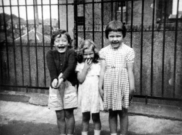 Young Children In Playground Of Milton House School 1950s