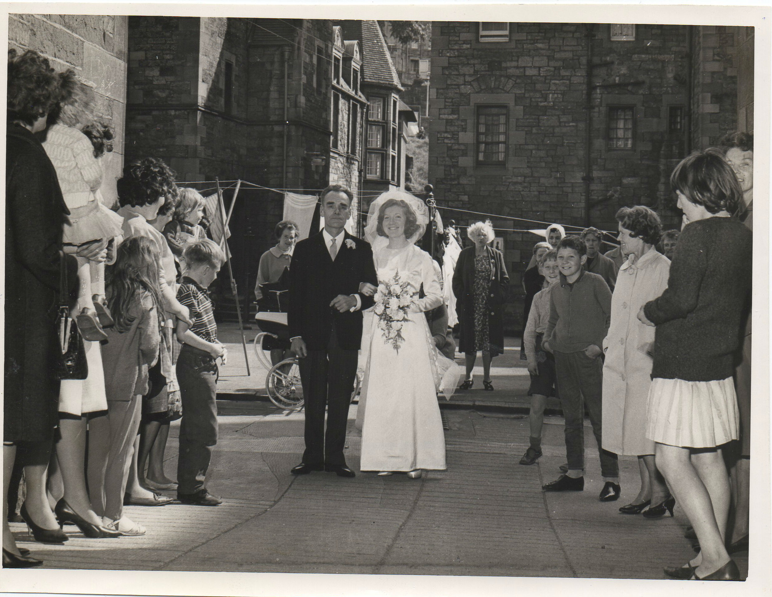 Kathleen Glancy's Wedding Day