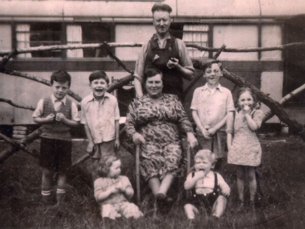 The Watson Family On Holiday At Their Cabin, late 1940s