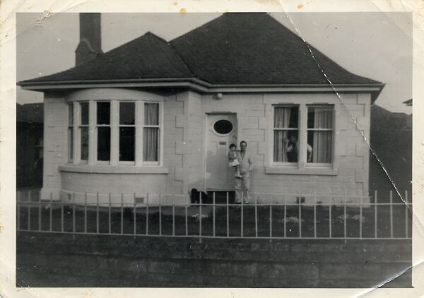 Standing At Door Of Bungalow At Mountcastle 1960s