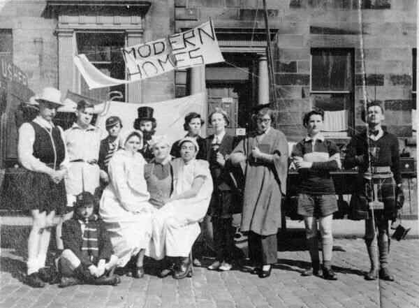 Edinburgh University Students In Fancy Dress 1950