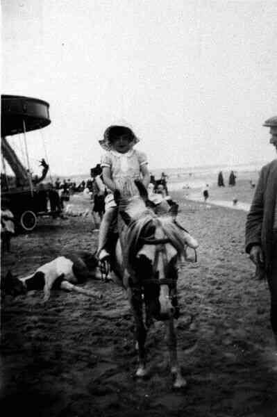 Donkey Ride On Portobello Beach 1935