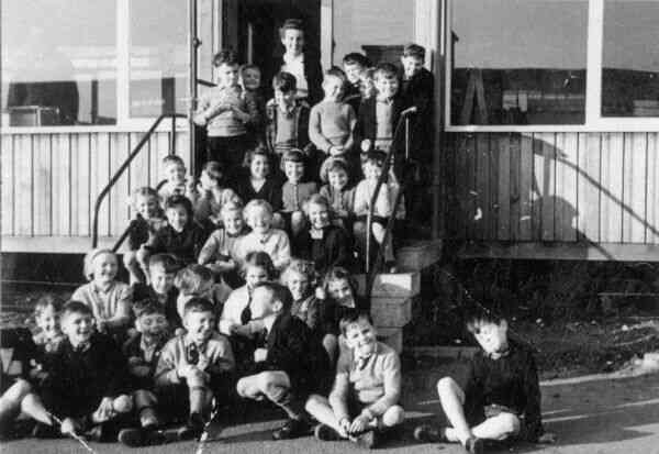 Class Of Pupils At Drylaw Primary School 1957