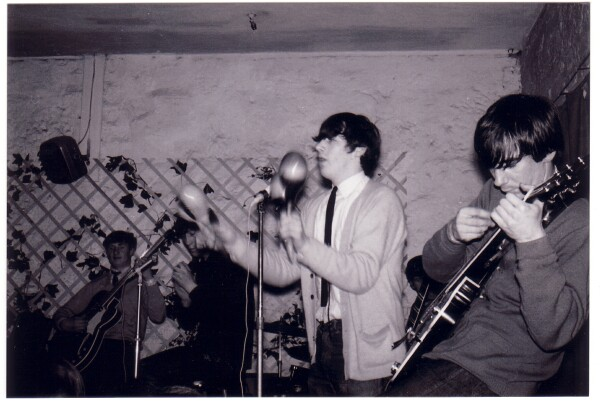 Local Band 'The Embers' Playing At 'The Hive' Club c.1965