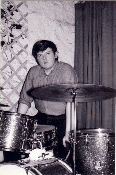 Drummer Of Local Band At 'The Hive' Club c.1965
