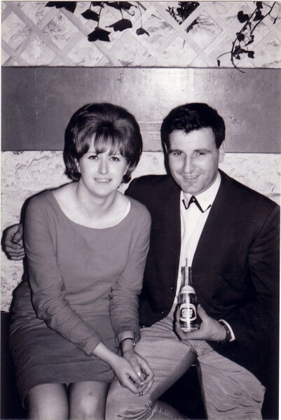 Young Couple At 'The Hive' Club 1964-65