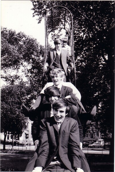 Members Of 'The Embers' In The Meadows Play Park c.1965