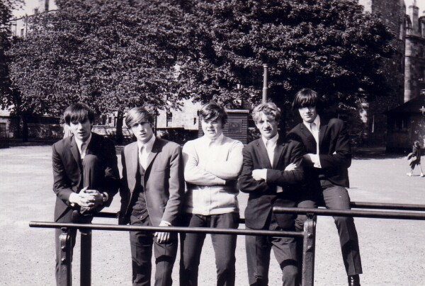 Members Of Local Band 'The Embers' In Meadows Play Park c.1965