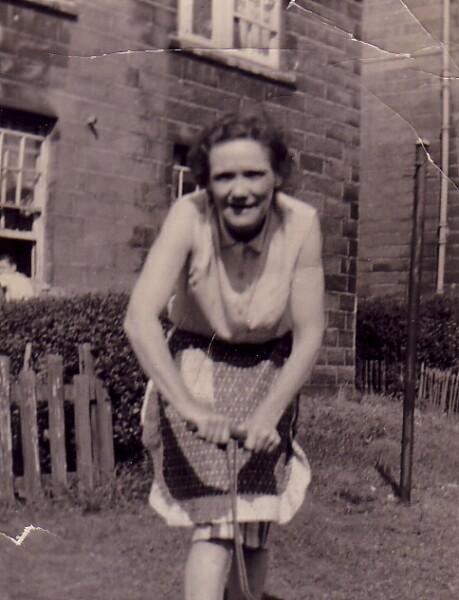 Woman In Back Green 1944