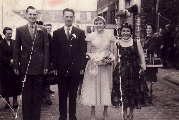 Wedding Party, June 1956