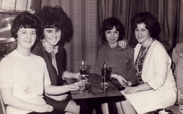 Friday Night Out At Haymarket Bar 1960