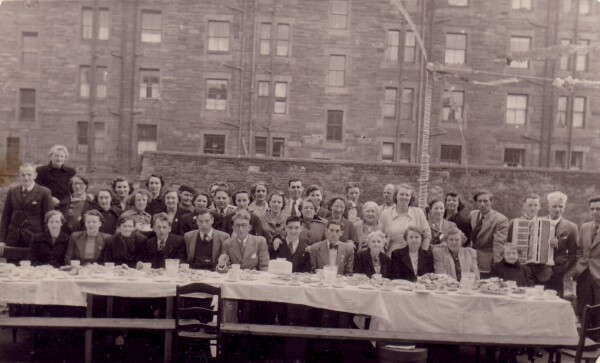 Coronation Street Party At Watson Crescent, 2nd June 1953