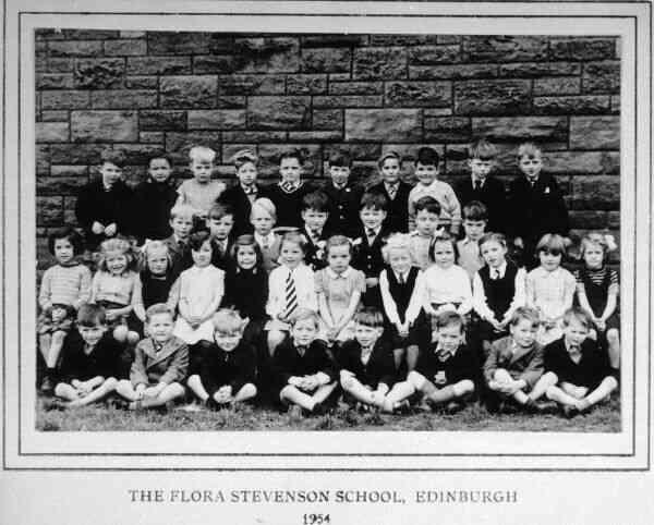 Flora Stevenson Primary School Class Portrait 1954