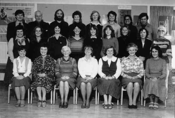 Craigmillar Primary School Staff Portrait 1970s