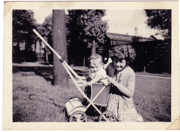Children Playing In Pilrig Park 1959