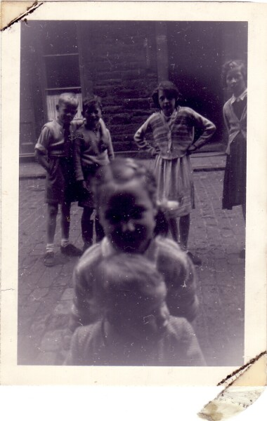 Children Playing In The Street 1952