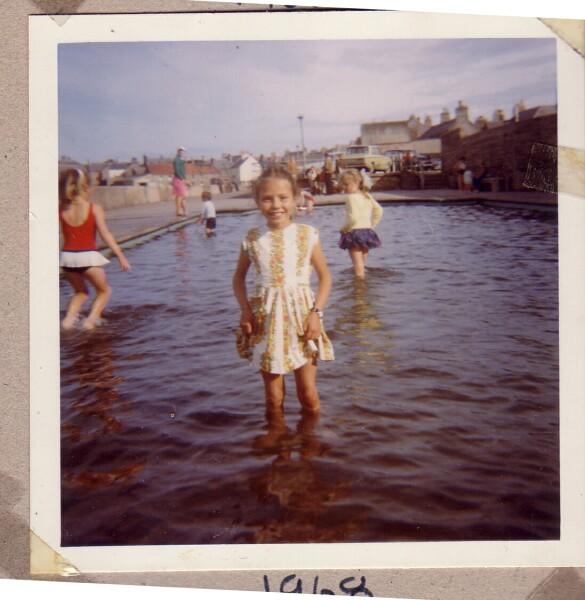 Girl Standing In Paddling Pool 1968