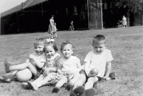 Children At Play In Pilrig Park 1965