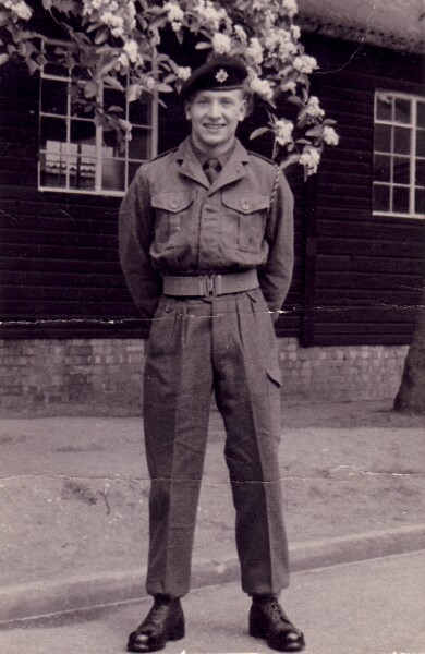 Soldier Standing At Ease c.1960