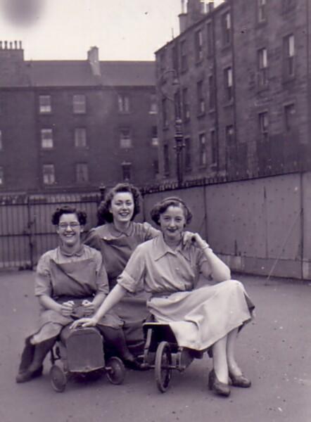 Bonnington School Nursery Class Staff , April 1954