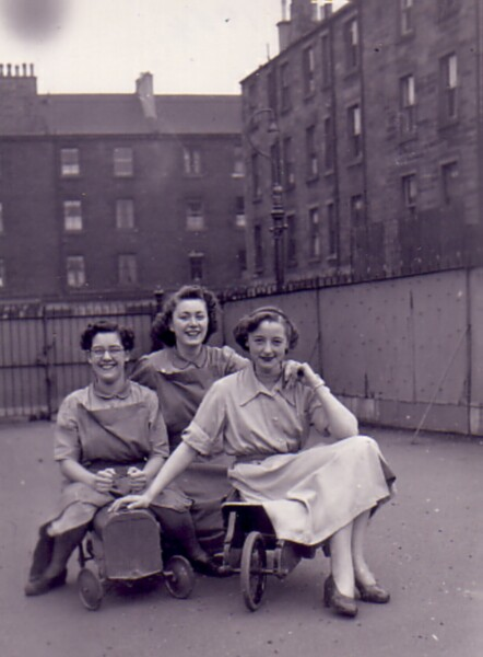 Bonnington School Nursery Class Staff , April 1954