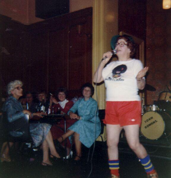 'Pie Night' Entertainment At Lochend 1989