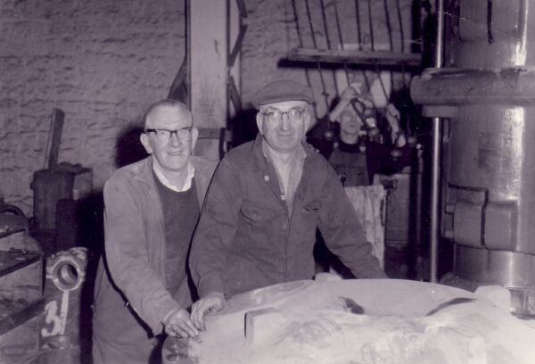 Two Workers At James Betram's Engineering Works 1960s