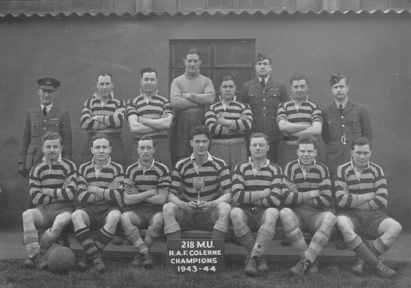 RAF Colerne Football Champions 1943-44