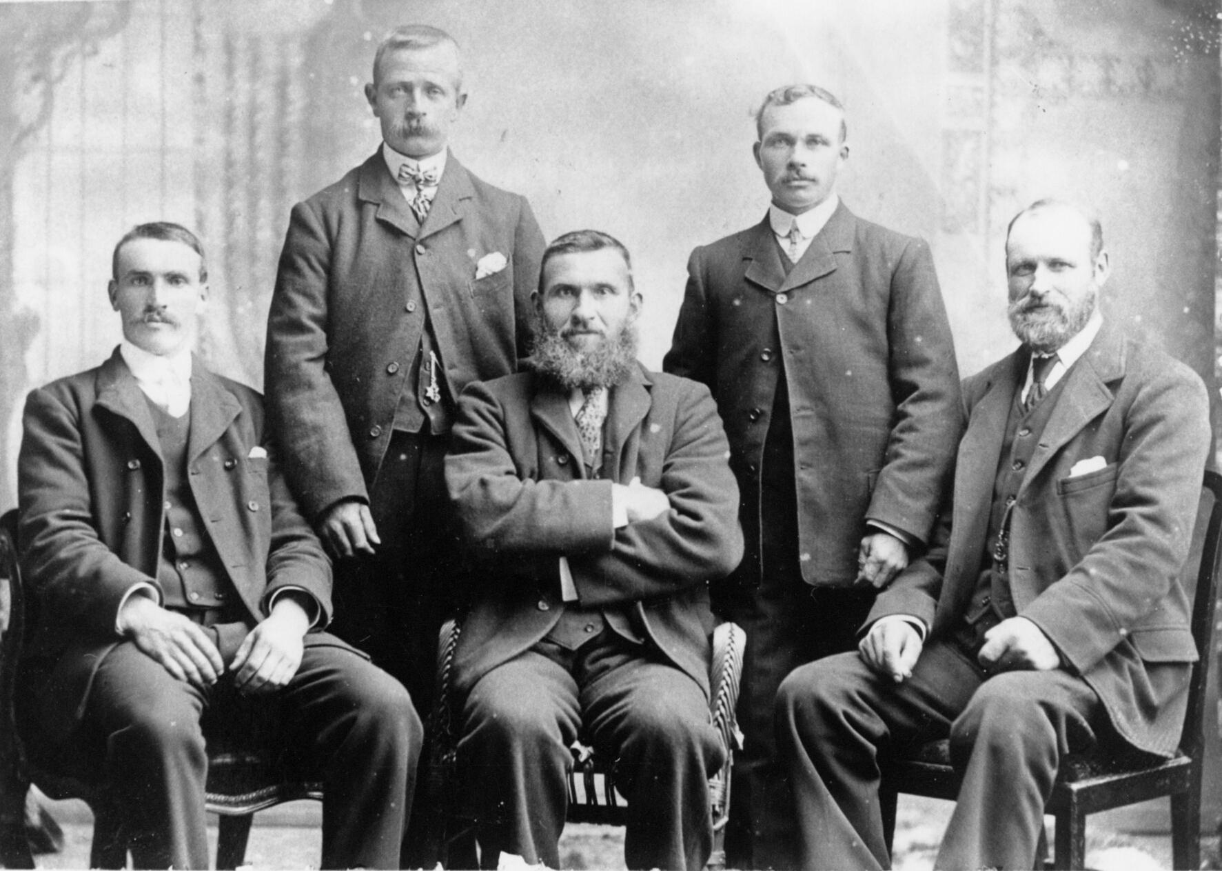 The Five Men Of Faray c.1909