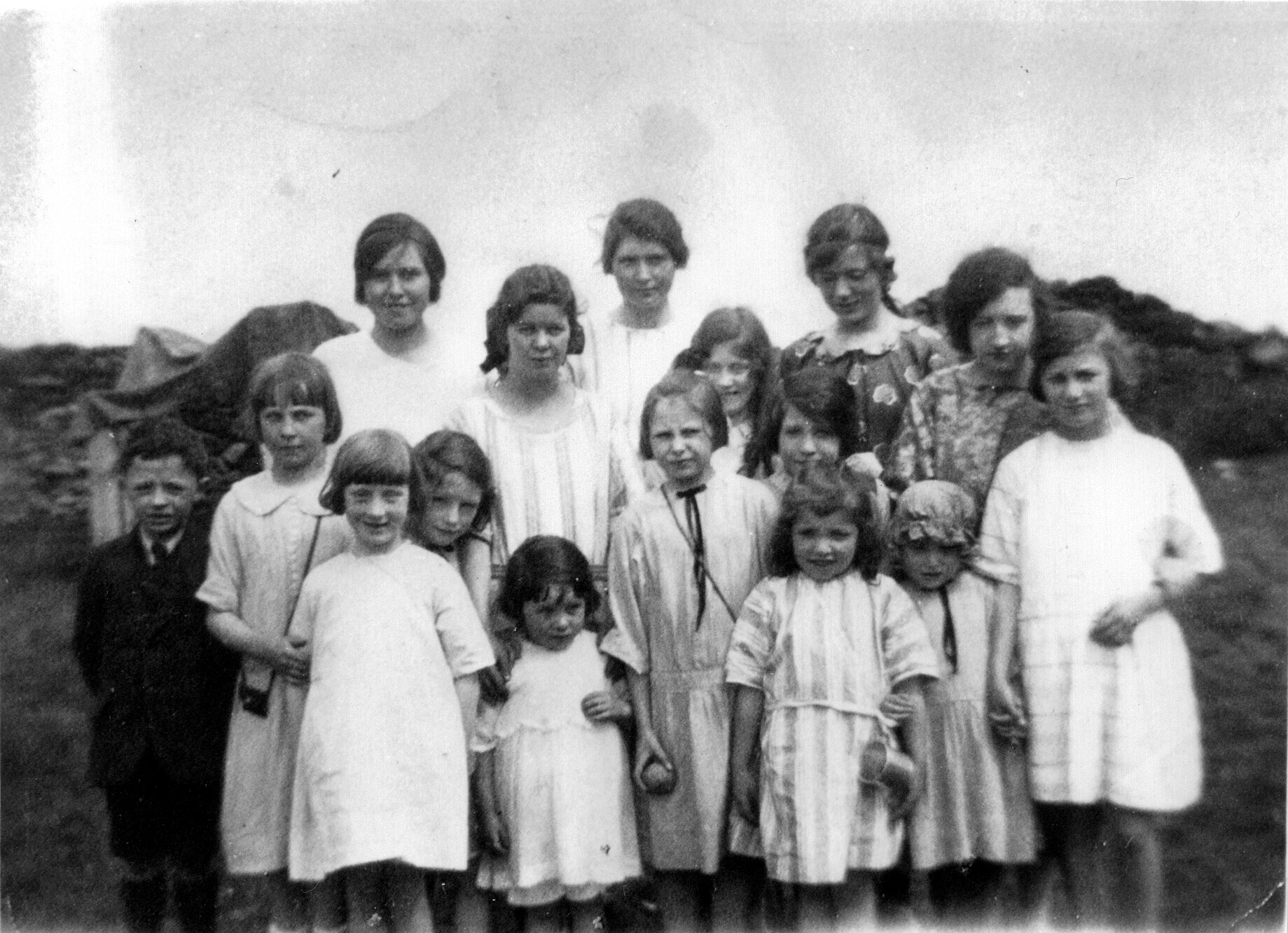 Sunday School Picnic 1925