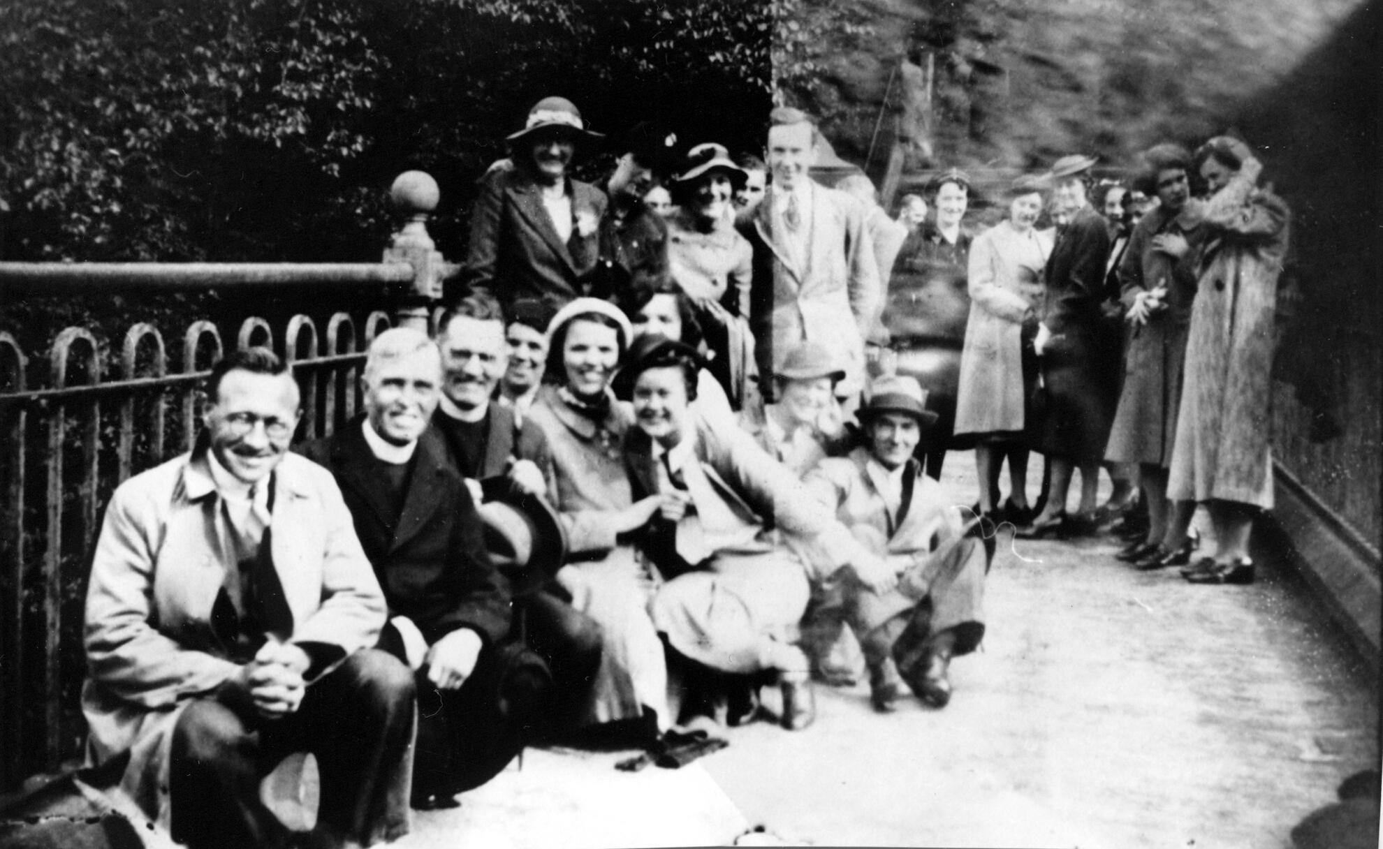 Kirk Memorial Church Congregation 1937