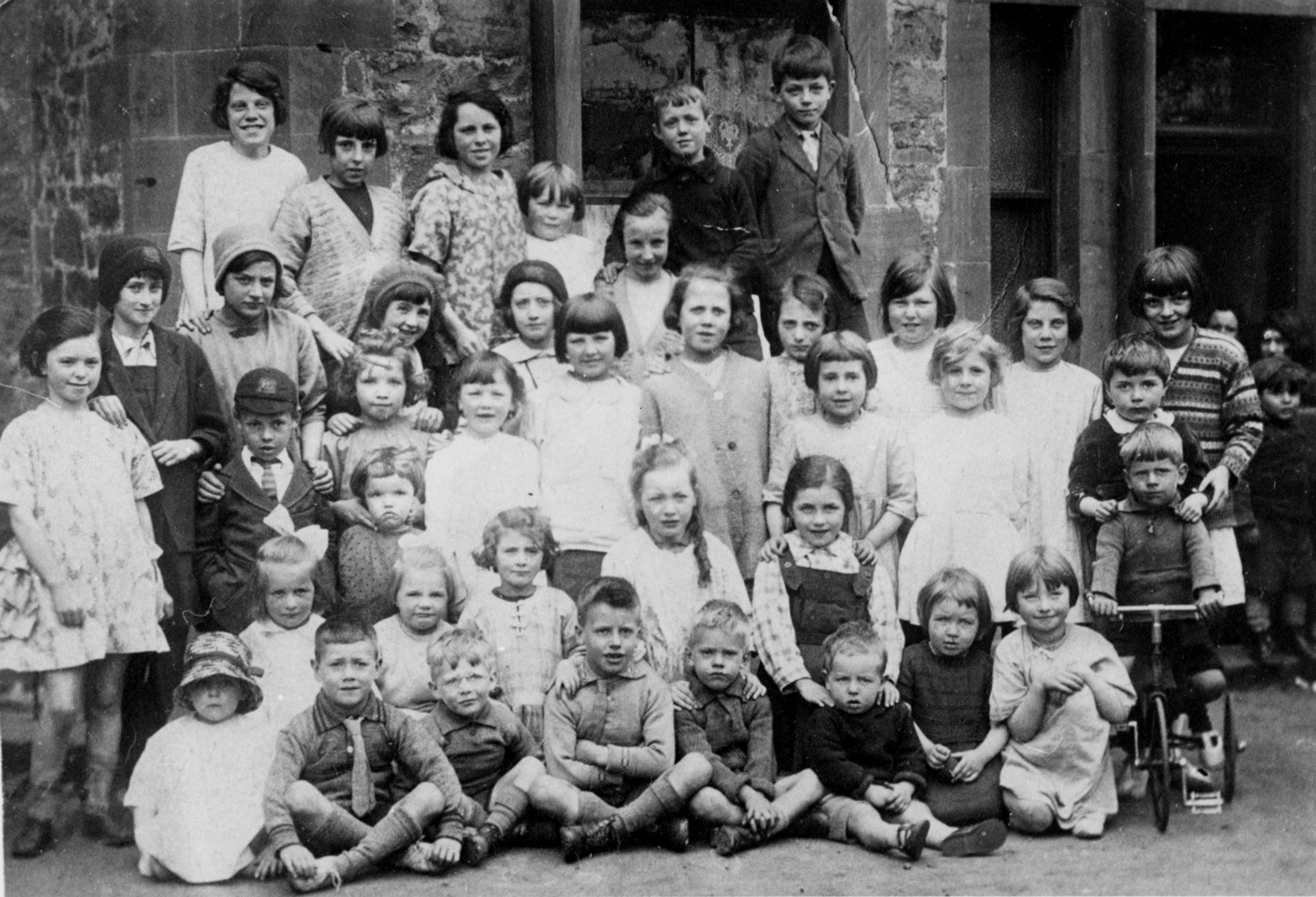 Children Of Albion Place And Albion Road 1925