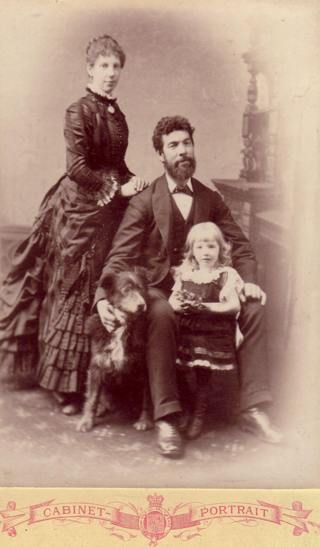 Studio Family Portrait 1886