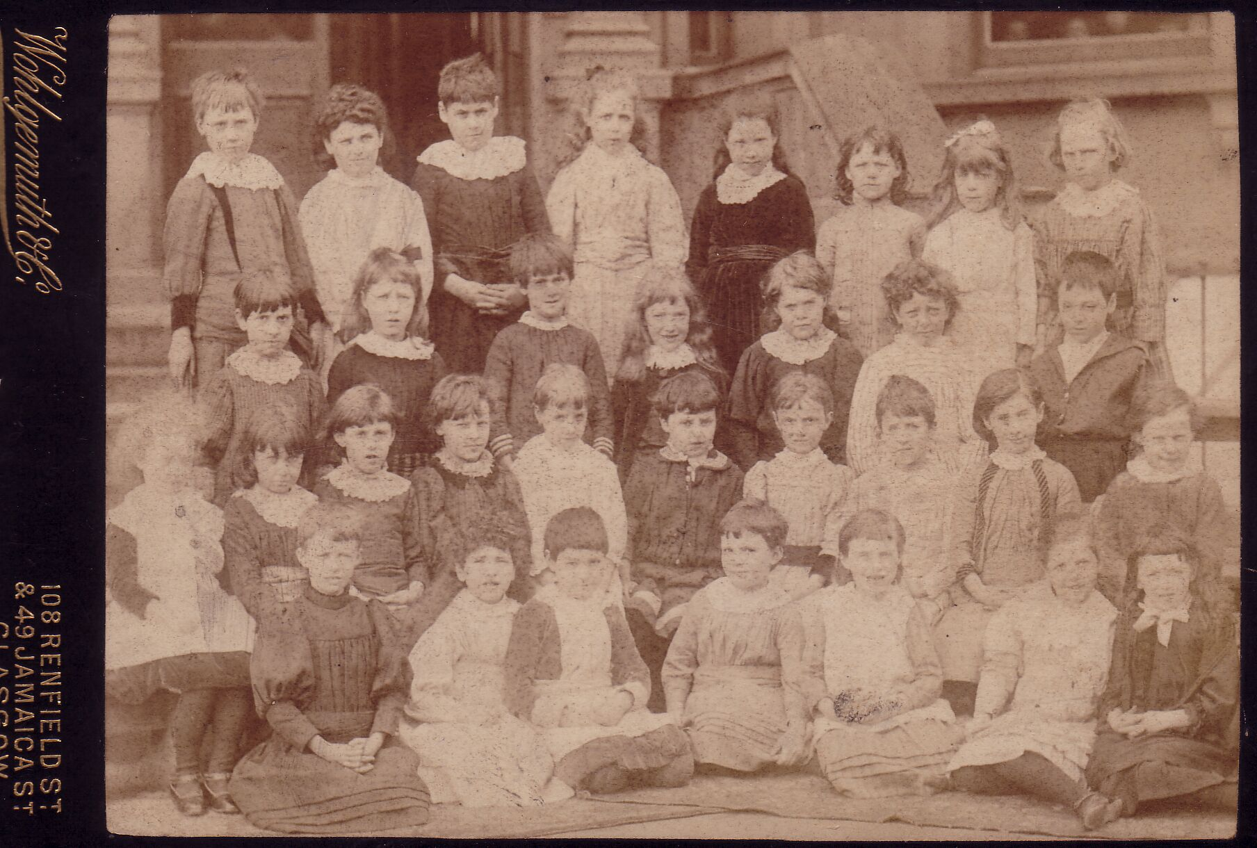Edinburgh Ladies College Class Portrait c.1892