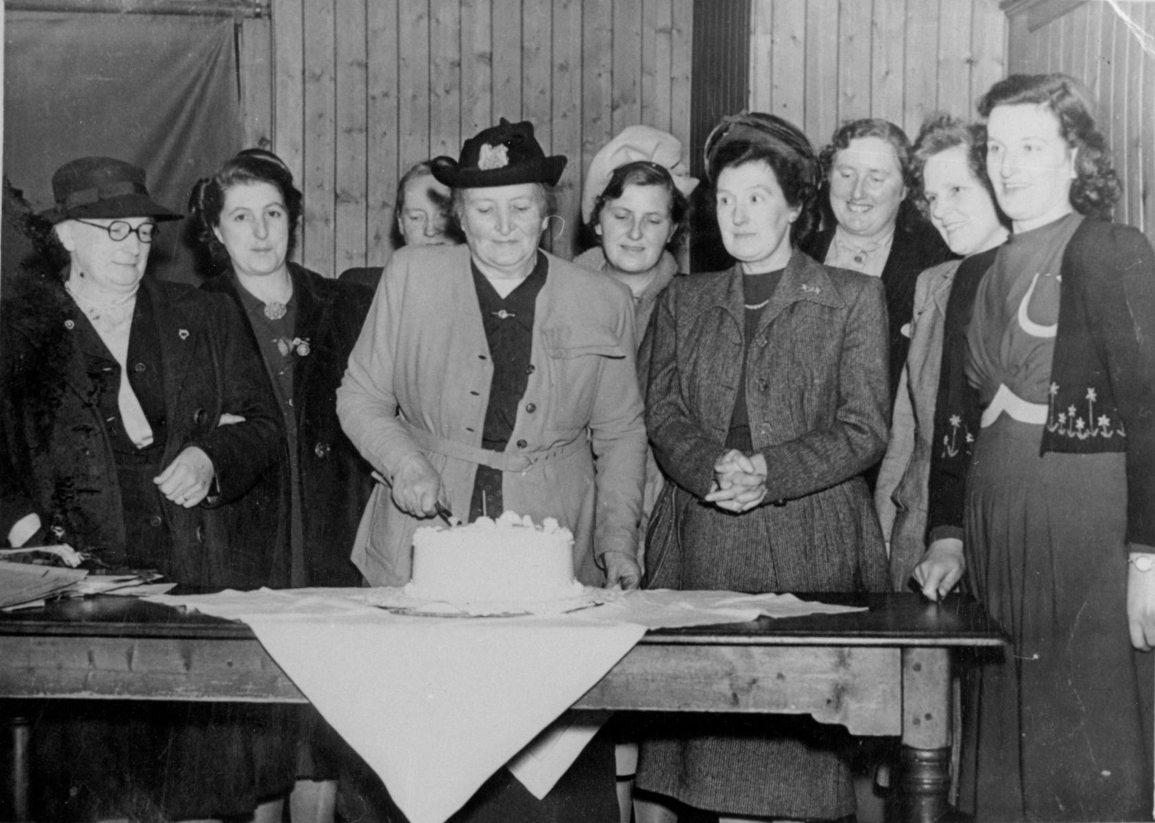 Scottish Women's Rural Institute Celebration 1950s