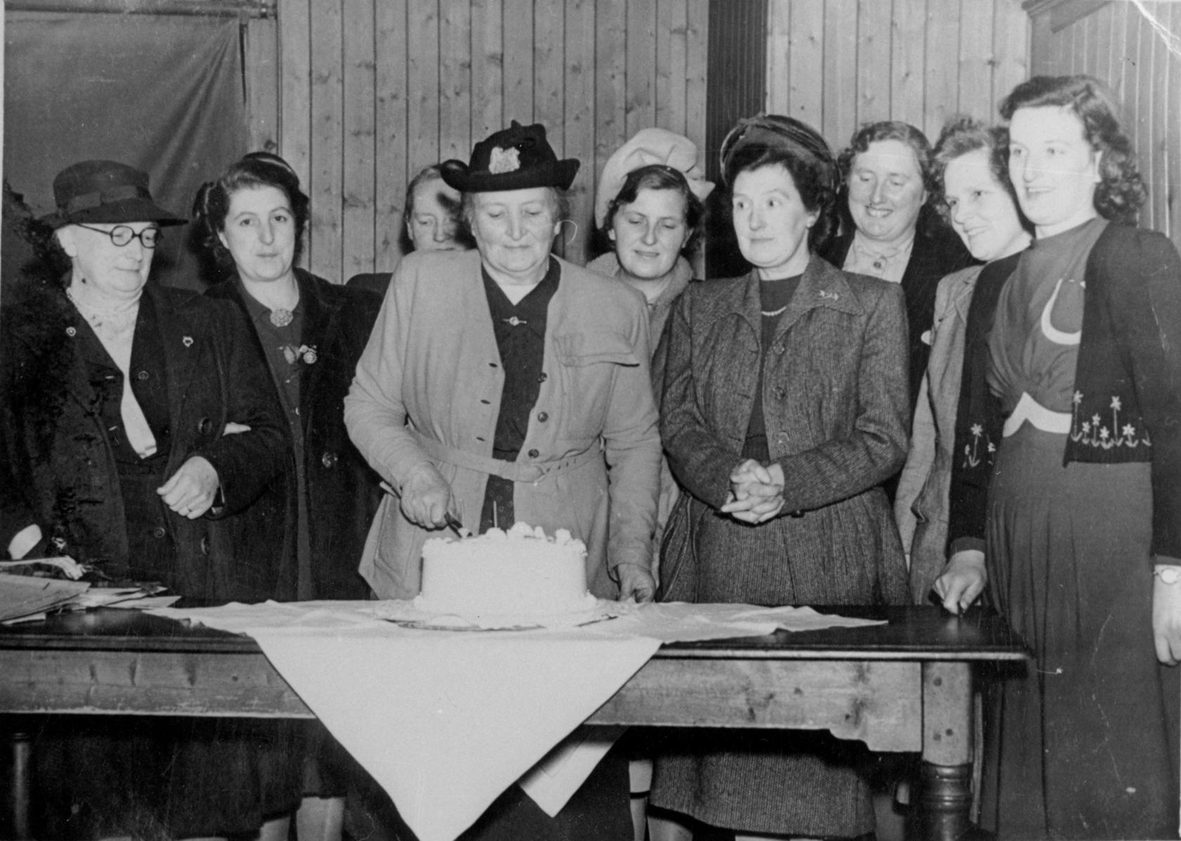 Scottish Women's Rural Institute Celebration 1950s