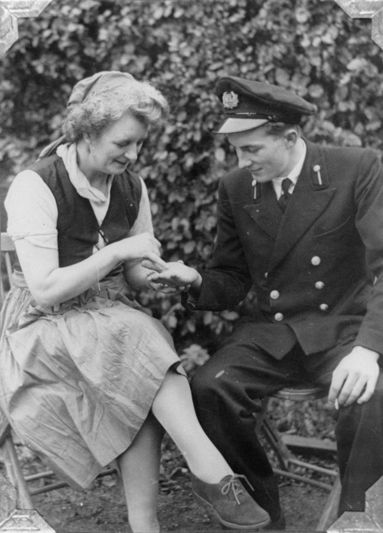 Fortune Telling At Village Fete 1948