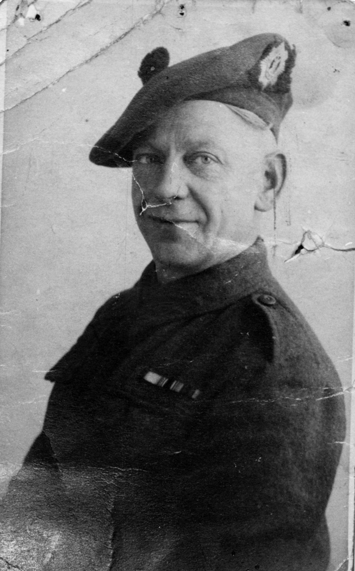 Portrait Soldier Of The Royal Scots 1939