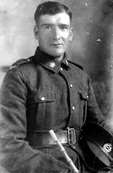 Portrait Scotsman In The Canadian Engineers 1914-18