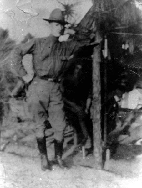 United States Army Machine Gunner 1914-18