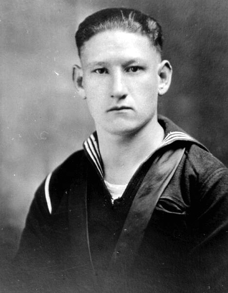 Portrait Sailor United States Navy 1914-18