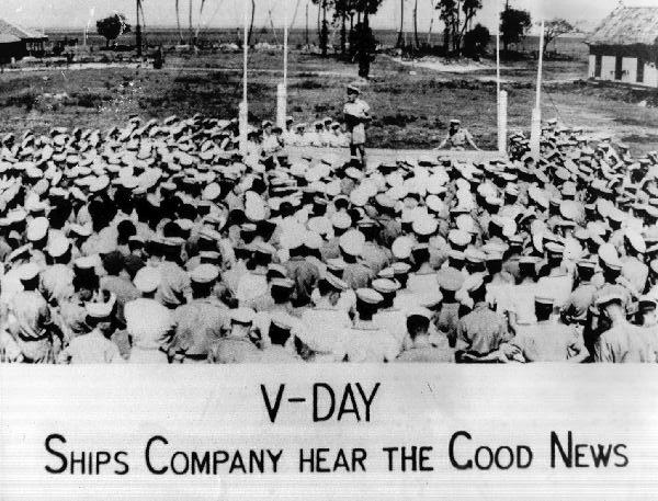 V-J Day, August 1945
