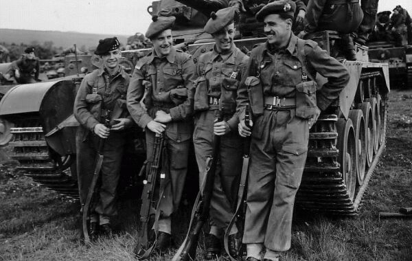 Soldiers On Manoeuvres During Korean War, November 1953
